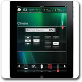 Crestron Mobile Pro G: Climate Screen